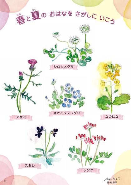 花育絵本の内容一部